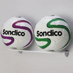 Double acrylic football display shelf