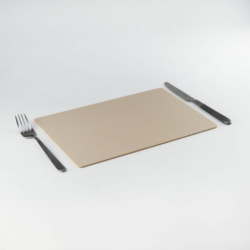 Rectangle Acrylic Placemats - Desert Beige