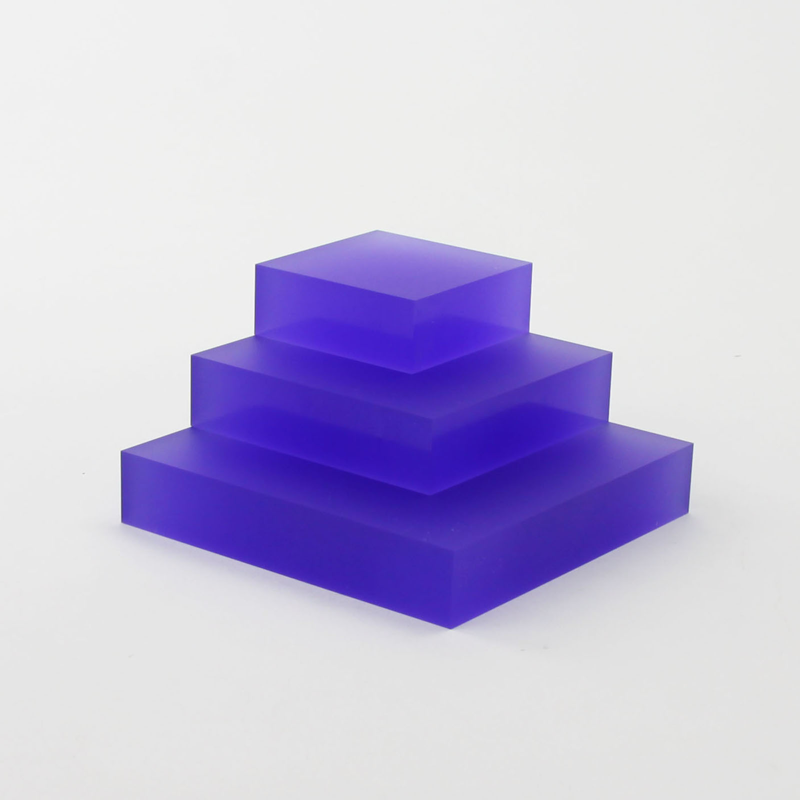 Purple Frost Display Blocks