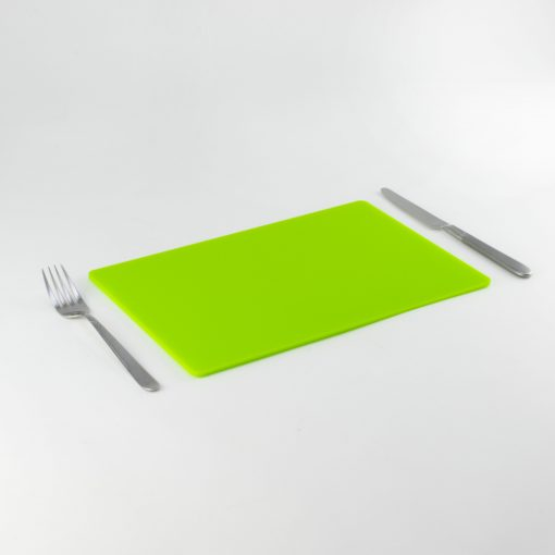 Rectangle Acrylic Placemats - Bright Green