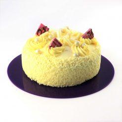 Round Acrylic Cake Board Violet