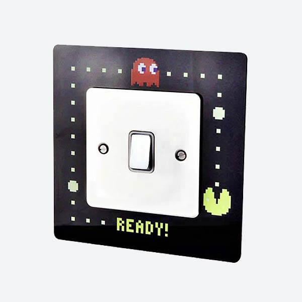 Pac Man Light Switch Surround
