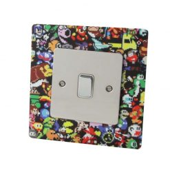 Acrylic 8-Bit Retro Gaming Character Socket Surround