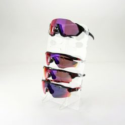 Clear Acrylic Sunglasses Display Stand with Sunglasses