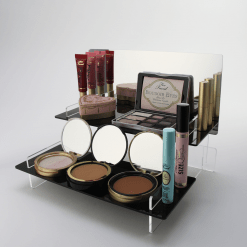 Make Up Display with Mirror Header Displaying Makeup