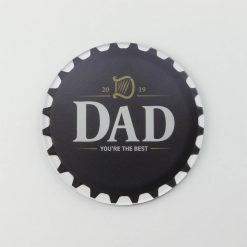 Guinness Best Dad Printed Acrylic Coaster