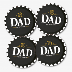 Dad Guinness Beer Coasters
