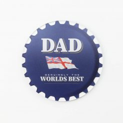Navy Rum Best Dad Printed Acrylic Coaster