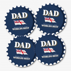 Dad Lambs Navy Rum Coaster