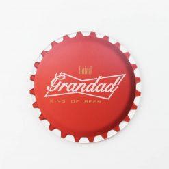 Budweiser Best Grandad Printed Acrylic Coaster
