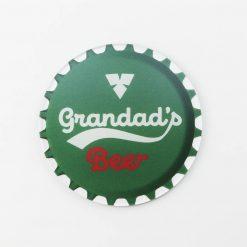 Carlsberg Grandads Beer Printed Acrylic Coaster
