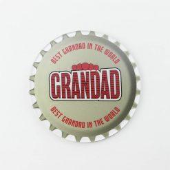 Desperados Best Grandad Printed Acrylic Coaster