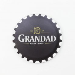 Guinness Best Grandad Printed Acrylic Coaster