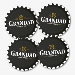 Grandad Guinness Beer Coaster