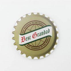 San Miguel Best Grandad Printed Acrylic Coaster