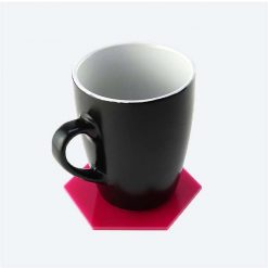 Hexagon Coaster with Mug