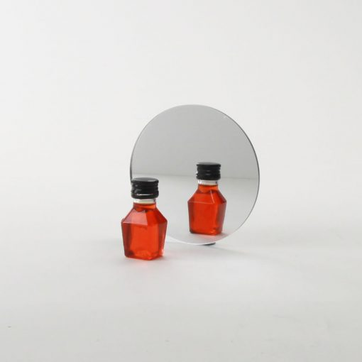 Round Acrylic Mirror Coaster