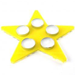 Star Acrylic Tealight Holder