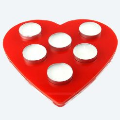 Love Heart Tea Light Holder 2