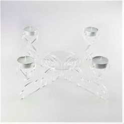 Acrylic Centrepiece Tealight Candle Holder