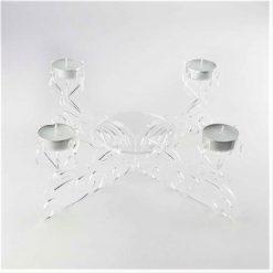 Acrylic Centrepiece Tealight Candle Holder