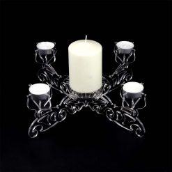 Clear Acrylic Centrepiece Tealight Candle Holder