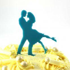Dance Design Wedding Cake Topper