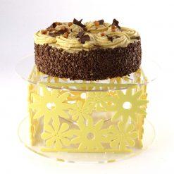 Acrylic Flowers Cake Stand