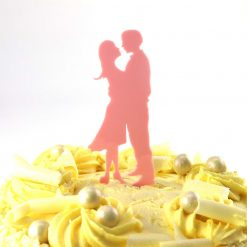 Gaze Design Wedding Cake Topper