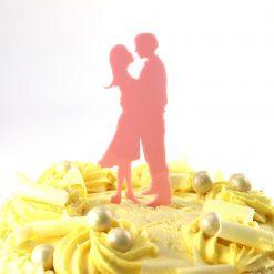 Gaze Design Wedding Cake Topper