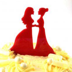 Mrs & Mrs Design Wedding Cake Topper