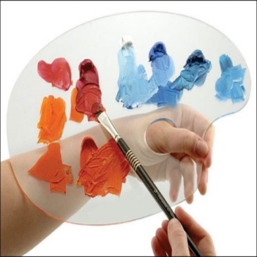 Clear Acrylic Artist Palette