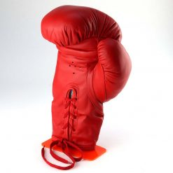 Red Glove Stand with glove