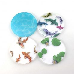 Separate Koi Coasters
