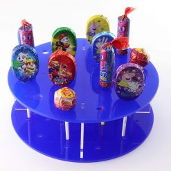 Acrylic Lollipop Display Stand Blue