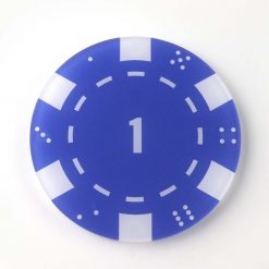 Printed Acrylic 1 Casino Chip Coaster