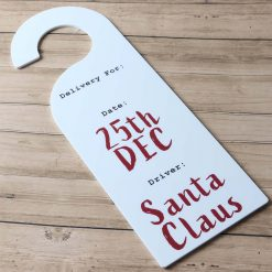 Christmas Delivery Door Hanger