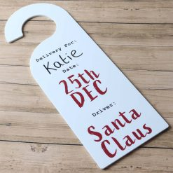 Christmas Delivery Acrylic Door Hanger
