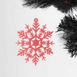 Snowflake Christmas Tree Decorations