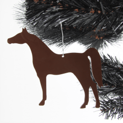 Acrylic Horse Christmas Tree Decorations