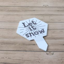 Let It Snow Mini Christmas Sign