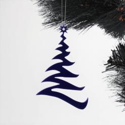 Acrylic Modern Tree Design Christmas Tree Decorations