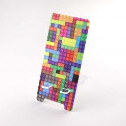 Printed Acrylic Lego Brick Design Mobile Phone Stand