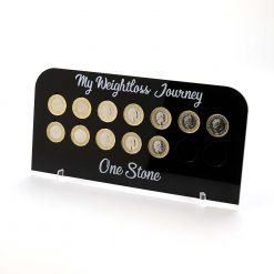 1 Stone Pound for lb Weight Loss Journey Board