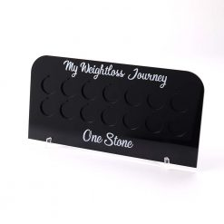 1 Stone Pound for lb Weight Loss Journey Board - no coins
