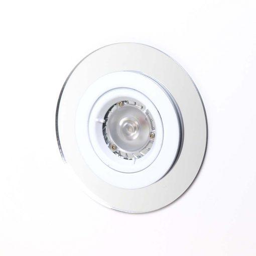 Silver Mirror Acrylic Spotlight Surround