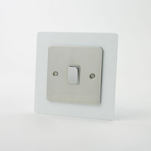 Trade Price 2mm Acrylic Single Light Switch Surround