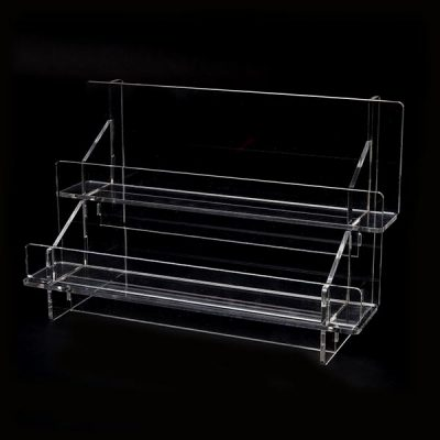 2 Tier Rack Clear