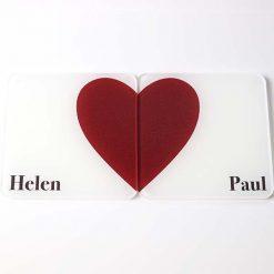 Couples Heaart Coasters