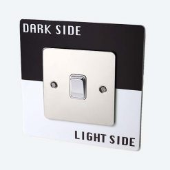 Dark Side Light Side Light Switch Surround